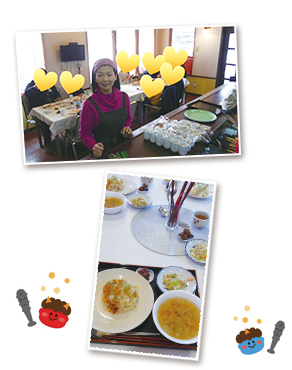 子ども食堂「さわやか食堂」第二十回目開催時の様子